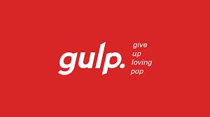 GULP (give up loving pop) Logo