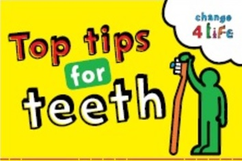 Top Tips for Teeth - Public Health England Campaign Resource Centre Logo