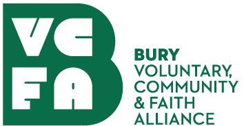 Bury VCFA (Voluntary, Community & Faith Alliance) Logo