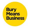 Bury Means Business - Free Business Support from Bury Council Logo
