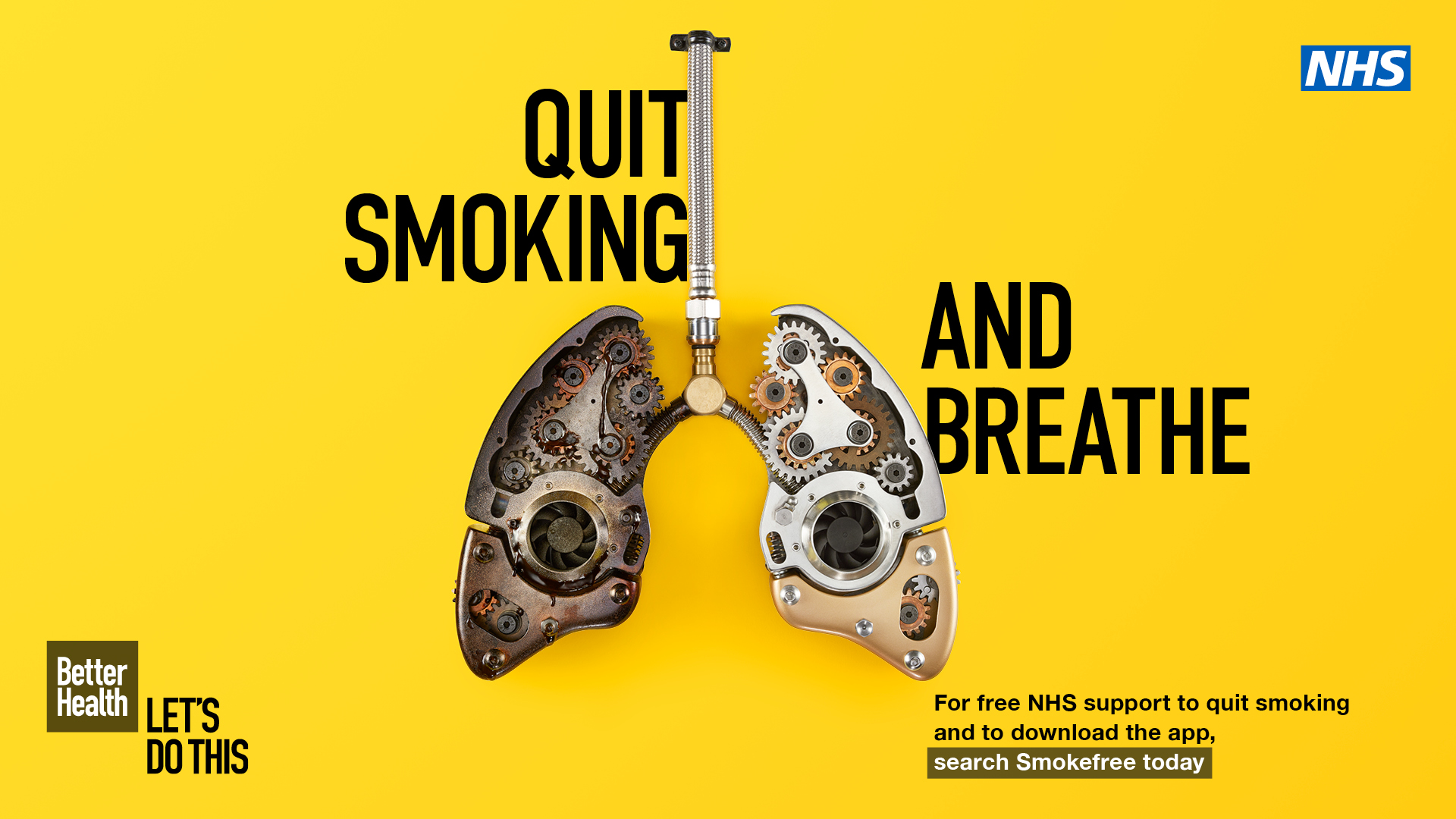Quit smoking and breathe