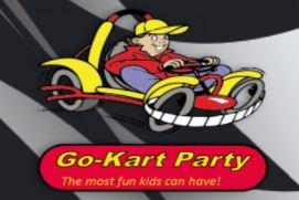 Go Kart Party Logo