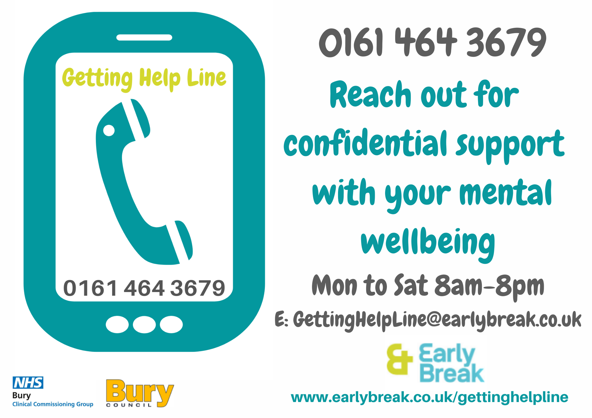 The Getting Help Line Logo