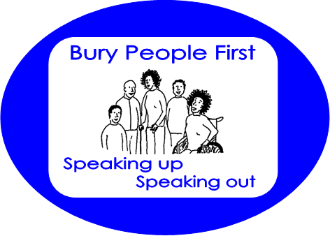 Bury People First Logo