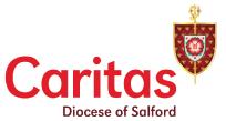 Bury Red Door - Caritas Logo