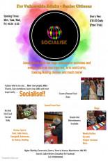 new socialise flyer