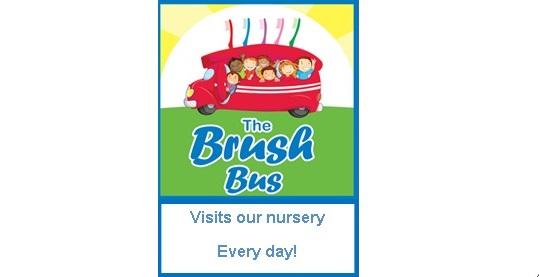 The Brush Bus Scheme in Bury Pre-school and Nursery Settings Logo