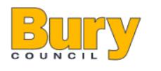 Bury Portage Team Logo
