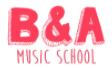 Billy & Andy's Music School! Logo