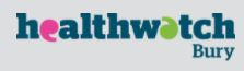 Healthwatch Bury Logo