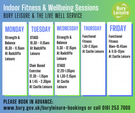 Wellbeing Timetable August 2021