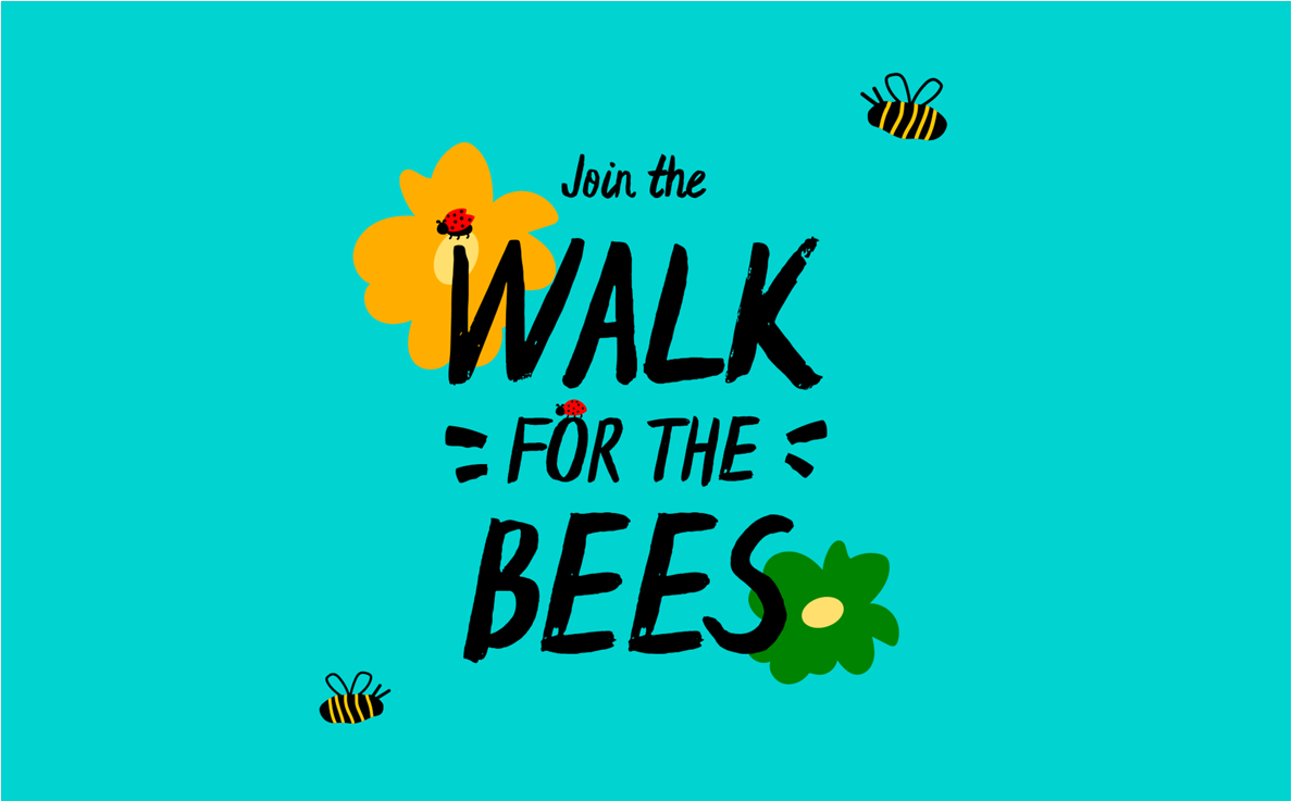 Walk for the Bees Logo